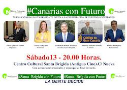 Nueva Canarias te invita al acto presentación de nuestros candidatos a las Elecciones