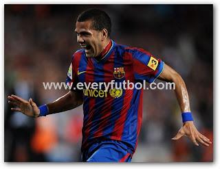Daniel Alves Renovo Contrato Barcelona