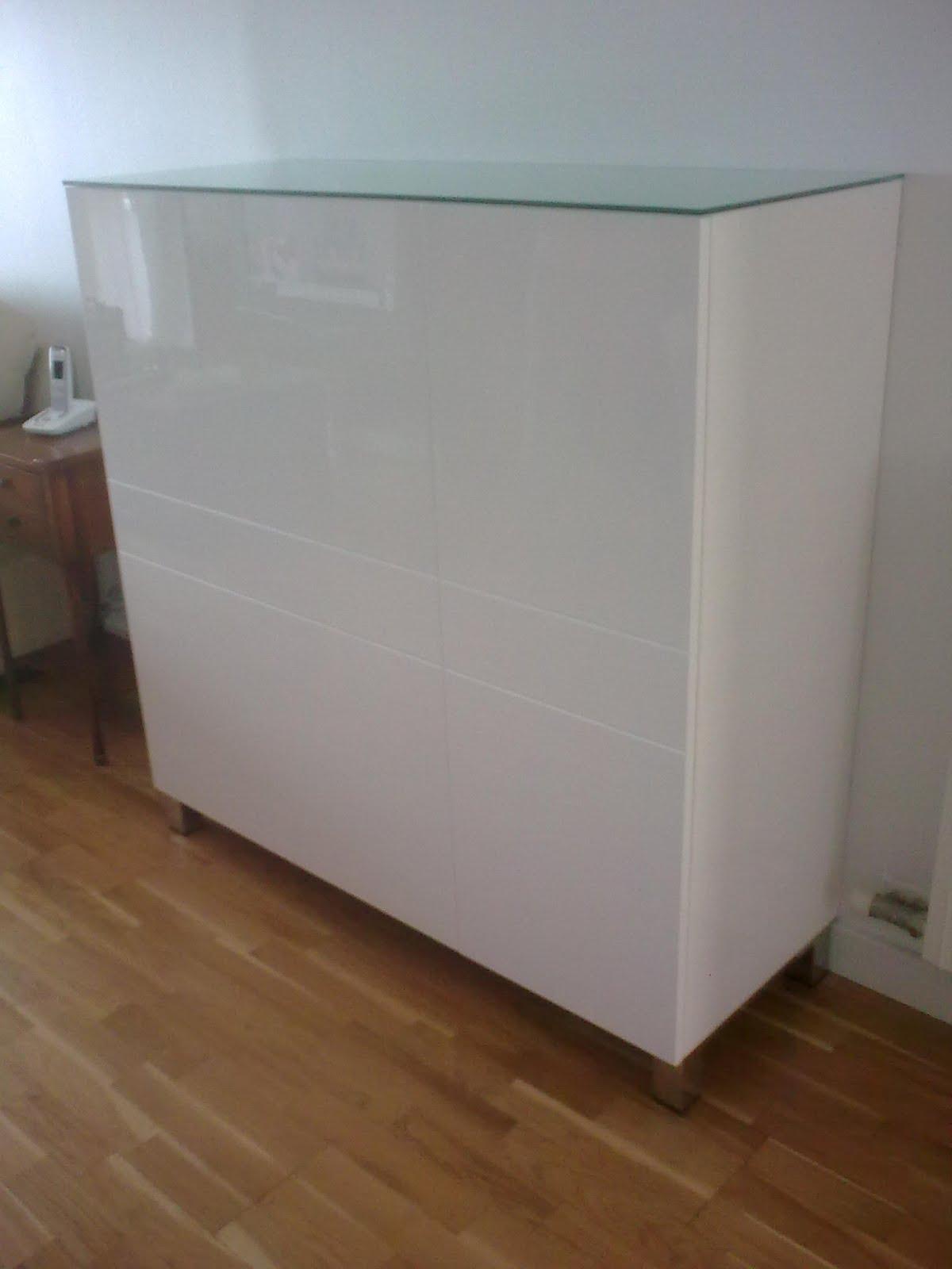 Mueble vajillero lacado en blanco  Muebles Cansado (Zaragoza