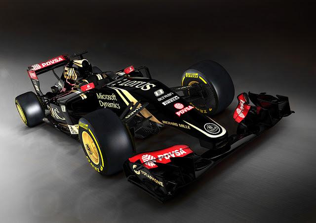 Formula 1 Lotus E23 Hybrid