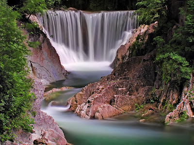 Fantasy Nature Wallpaper | Beautiful Water Flow