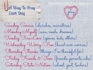 http://www.stopandsmellthechocolates.com/2013/01/a-way-to-pray-each-day.html