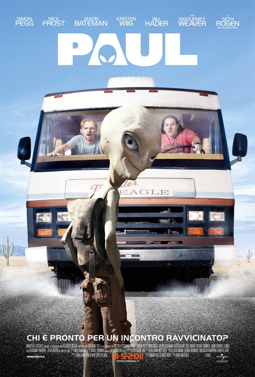 ver Paul, El Extraterrestre online y trailer pelicula online gratis