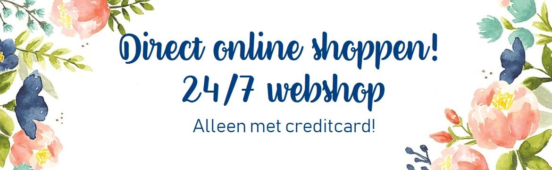 Shoppen in de webshop!