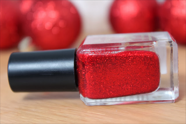 Barry M Red Glitter Nail Polish