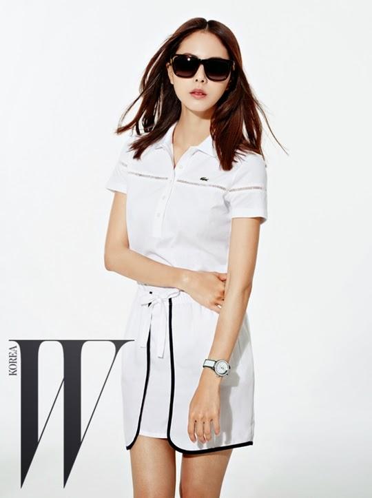 Park Ji Yoon - W Magazine June 2014