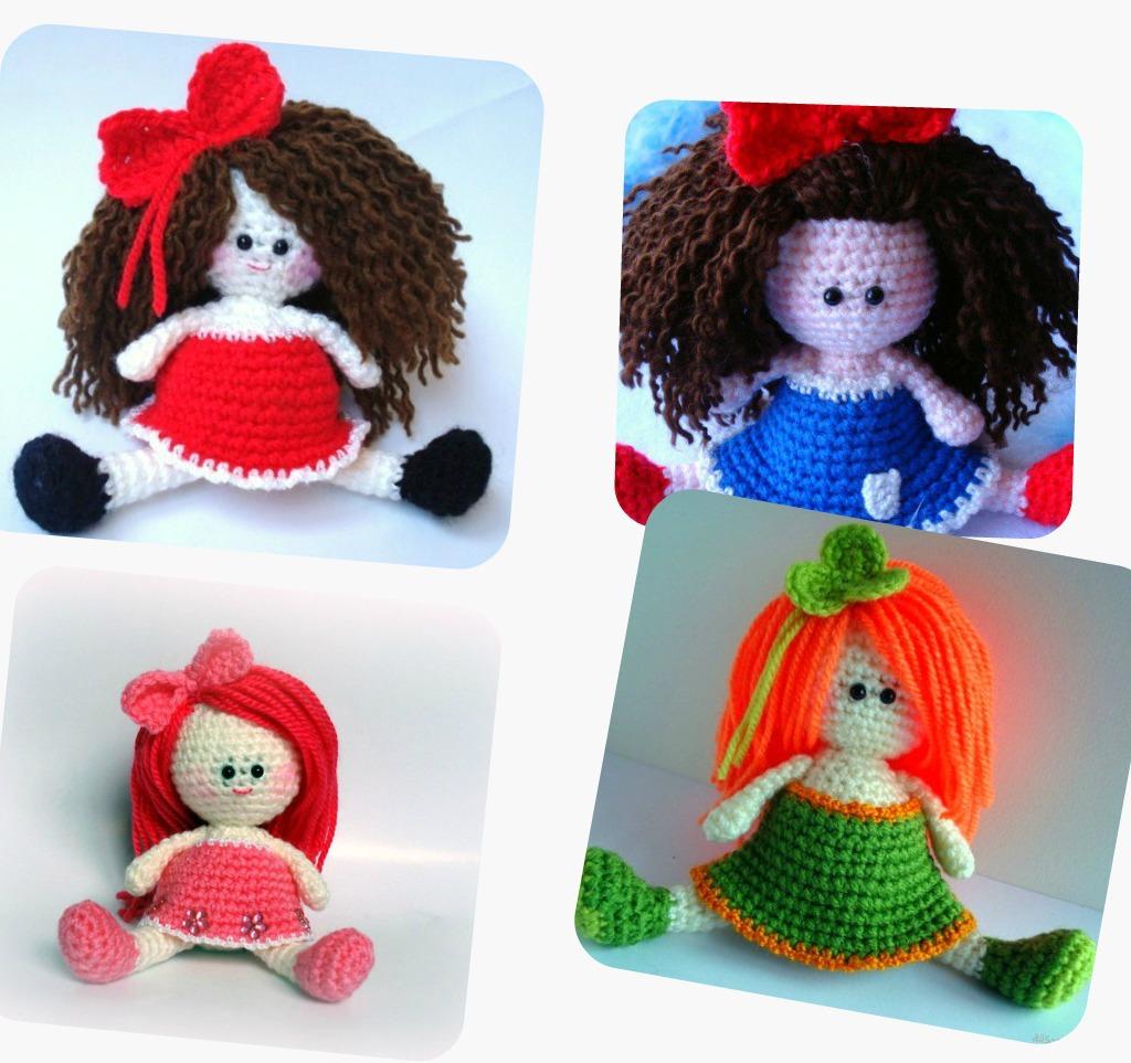 Amigurumi Girl Doll Pattern : AllSoCute Amigurumis: Amigurumi Girl Doll Pattern