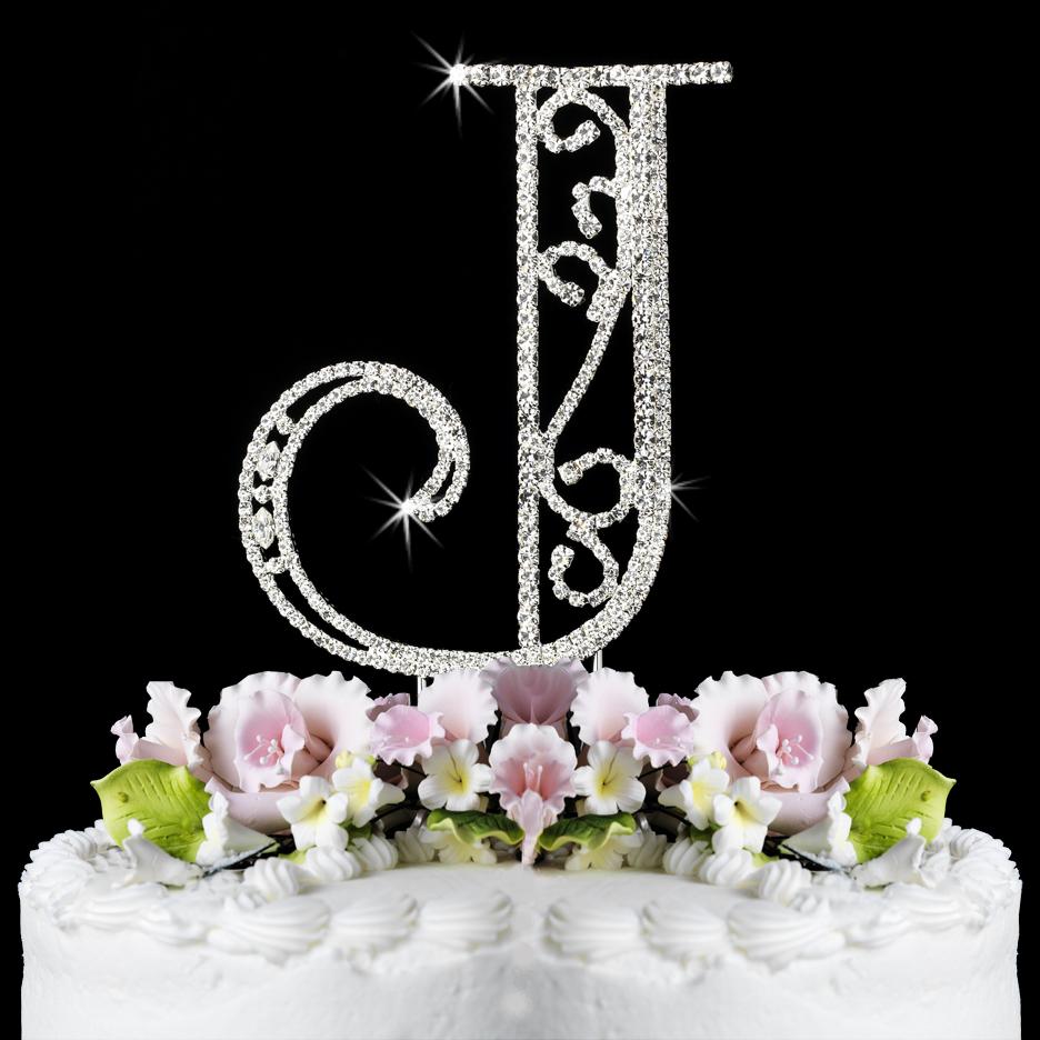J Initials Display Pics