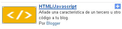 Como insertar iconos de redes sociales en Blogger
