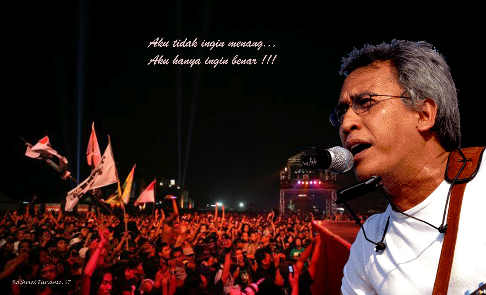 Iwan Fals yang bernama lengkap Virgiawan Listanto (lahir di Jakarta, 3 ...