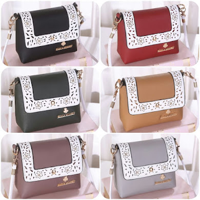 JESSICA MINKOFF BAG - BLACK , GREEN , GREY , RED , KHAKI , LIGHT PURPLE