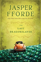 book cover of The Last Dragonslayer by Jasper Fforde