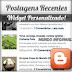 Widget últimas postagens personalizado para Blogger