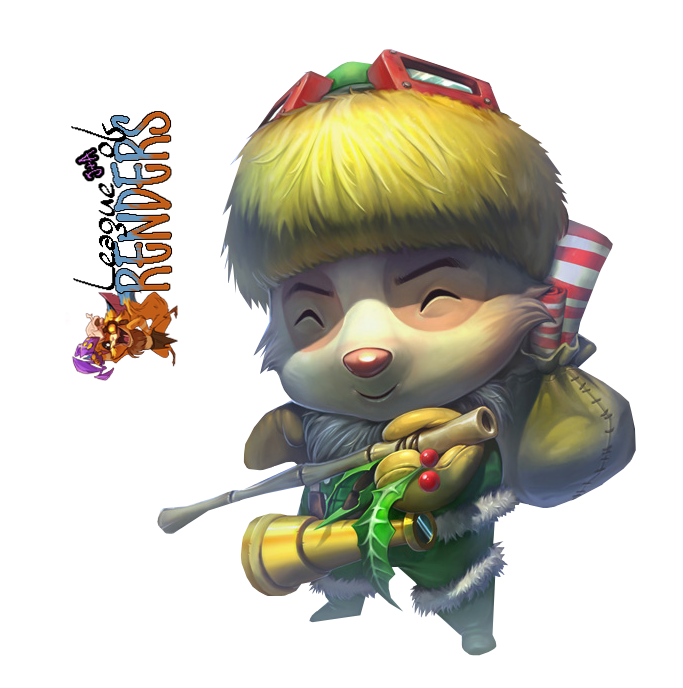 Render Happy Elf Teemo