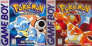 Pokémon Red y Blue