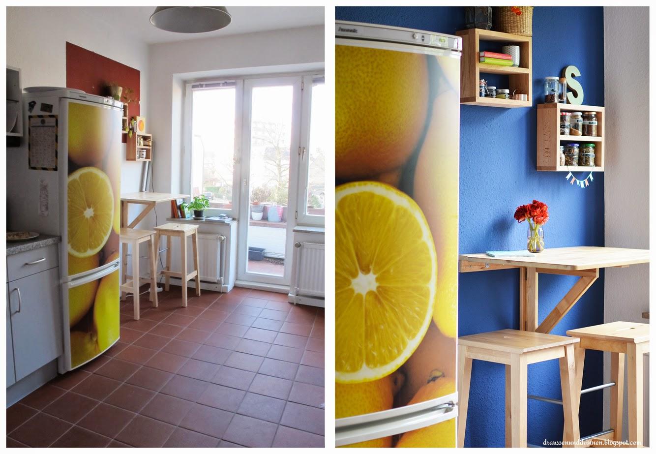 Draussen und drinnen: das blaue küchenwunder und große verlosung ...