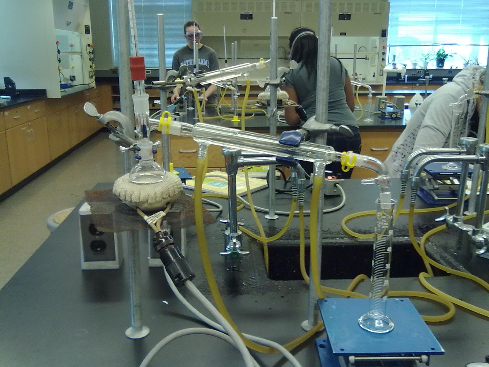 fractional distillation lab Fractional distillation is a technique used when separating a mixture of two liquids that do not behave well enough to use simple distillation in this case simple .