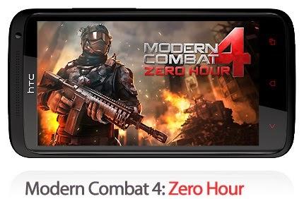 modern combat 4 zero hour apk data free