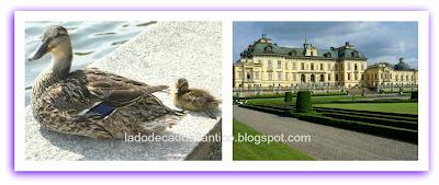 Drottingholm, Suécia, residência particular da família real.