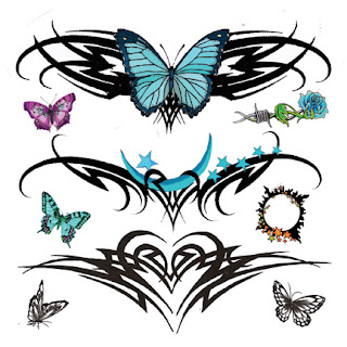 Design Tattoo lower back