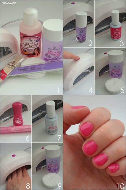 essence - gel nails at home - Anleitung