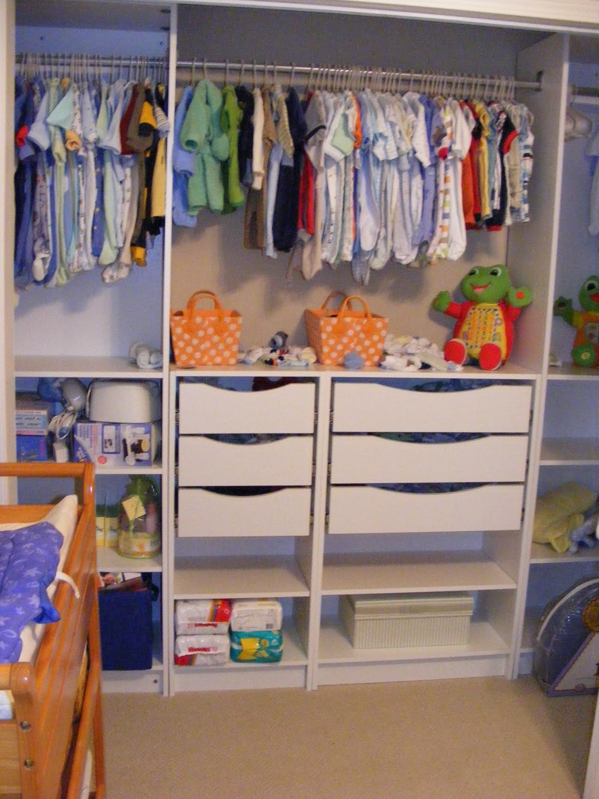 Our under 100 ikea hack closet makeover southern revivals for Kids room closet ideas