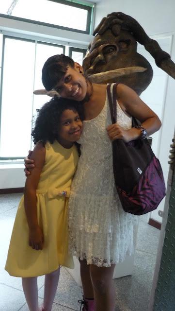 Fabiola Gamez Ceramista Venezolana y su hija Kya