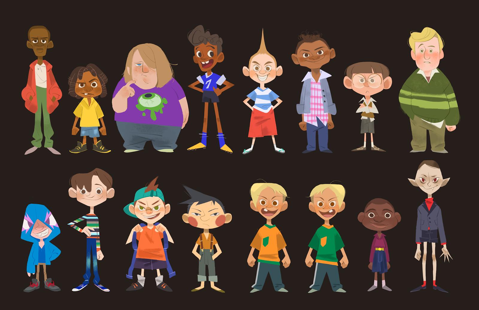 Calarts Character Design Portfolio : Soyeon yoo s portfolio
