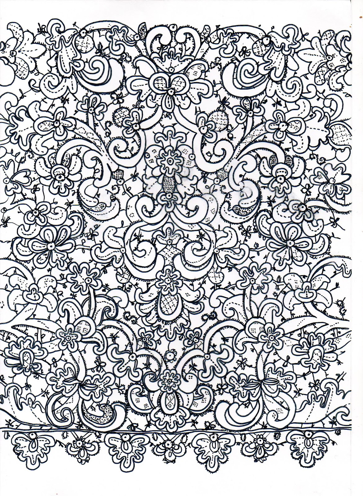 lace drawing pattern -#main