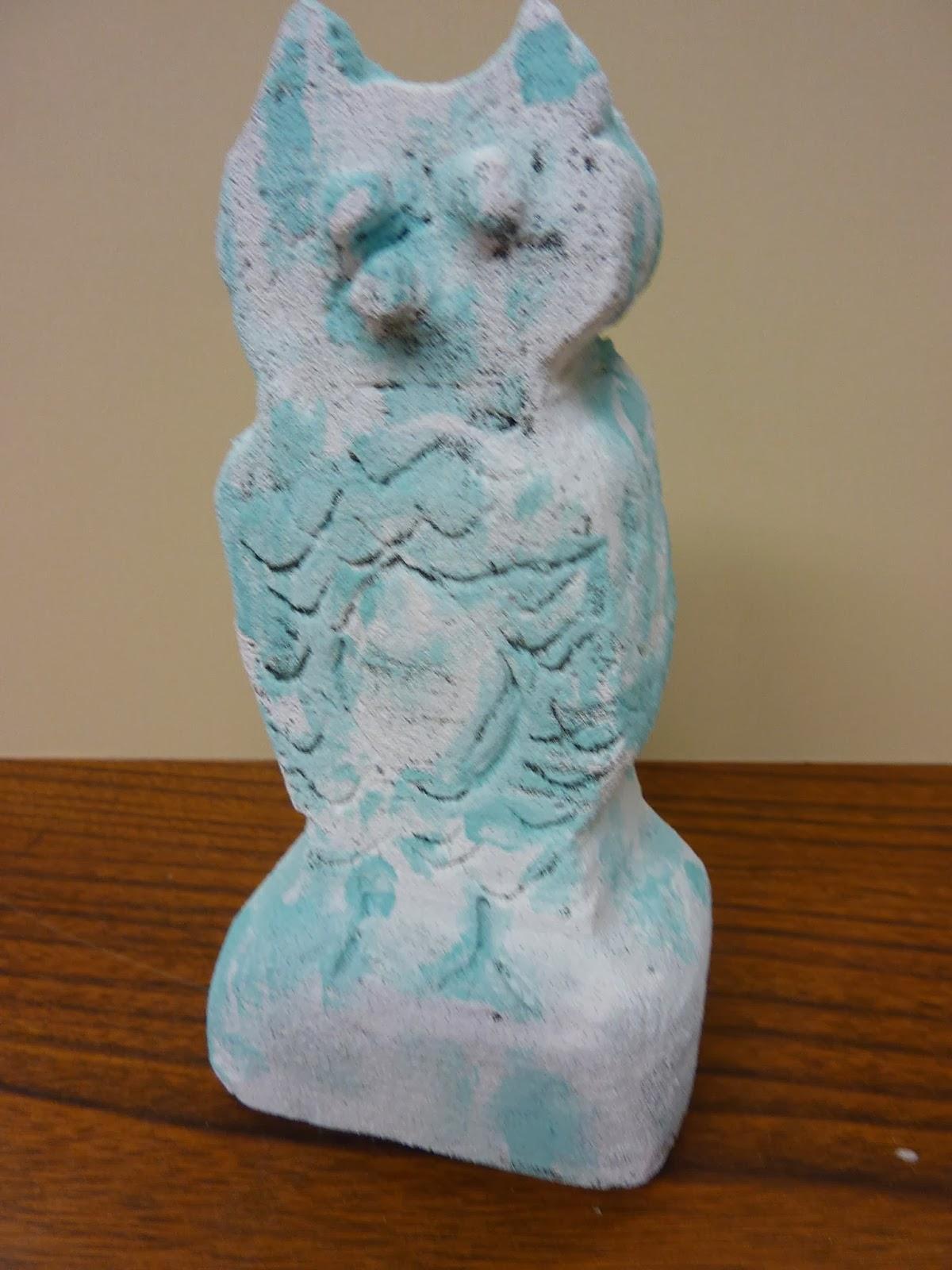 P c k art room subtractive carving in desert foam