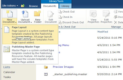 Neue SharePoint Seiten Layout