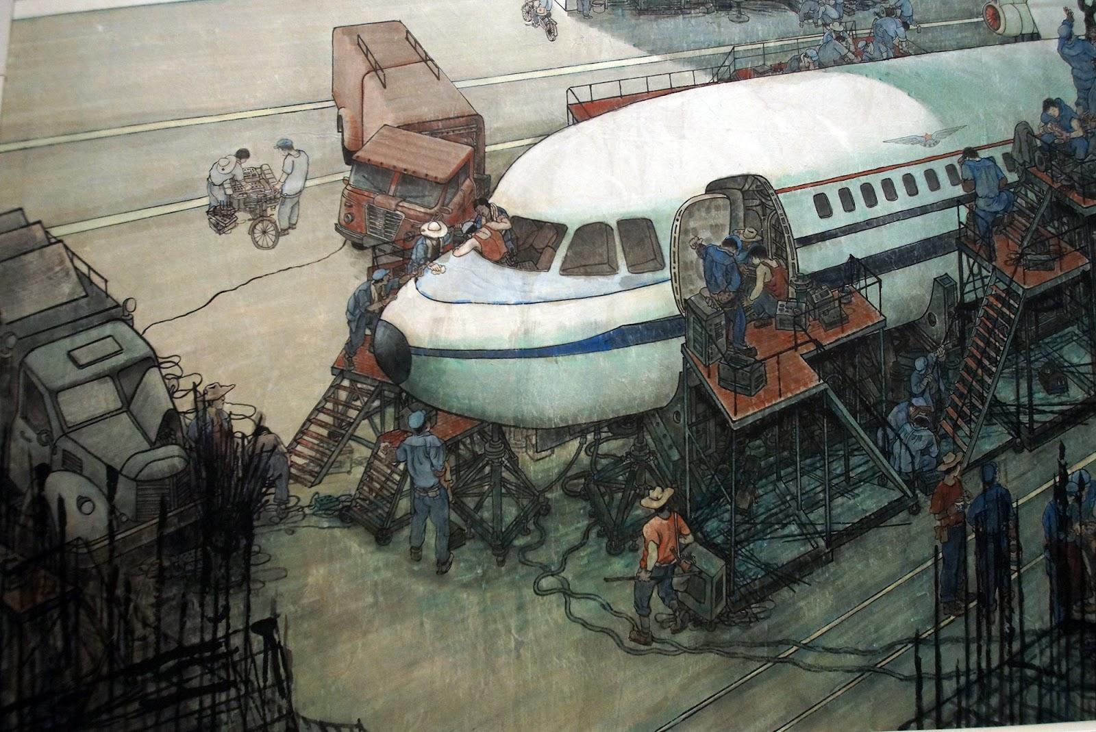 SHANGWHY: Peinture néo-réaliste Chinois