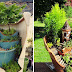 18 MINIATURE GARDENS MADE FROM BROKEN POTS