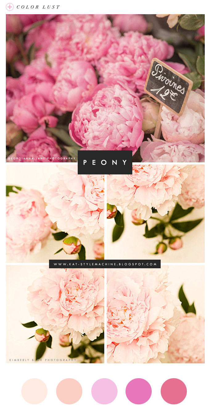 style inspired by peonies in france photography and color pink
