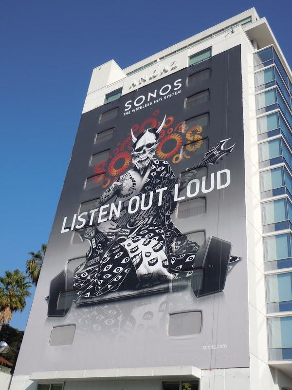 Sonos Listen Out Loud billboard