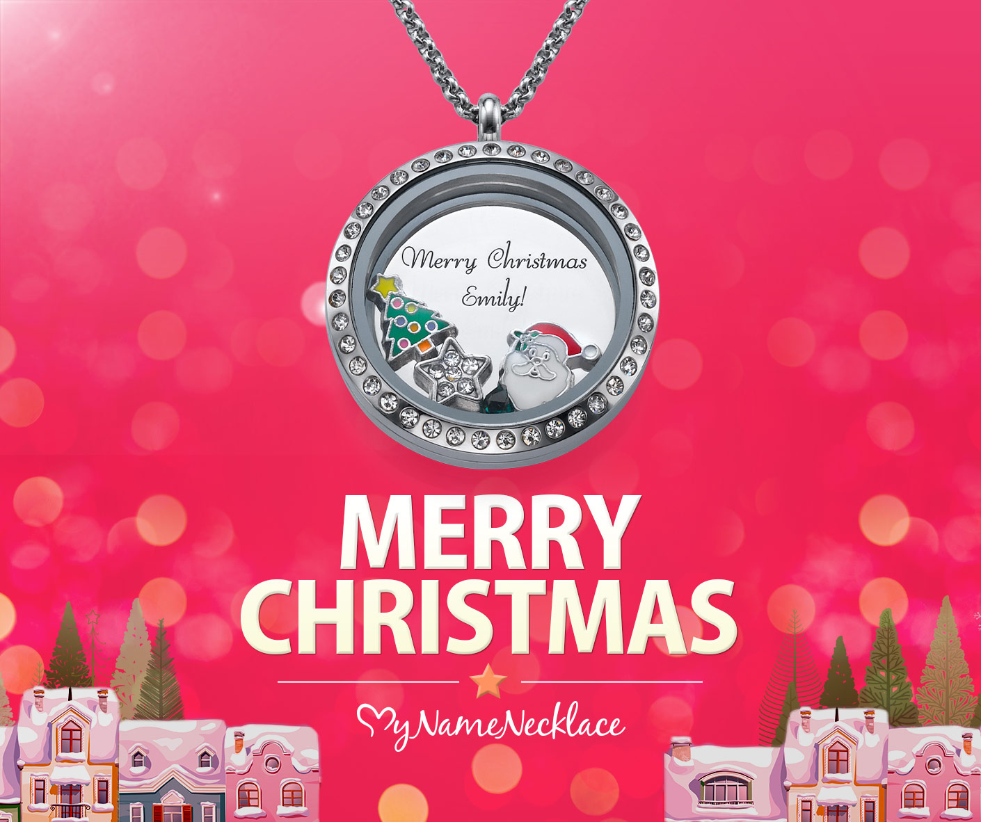 Merry Christmas from MyNameNecklace