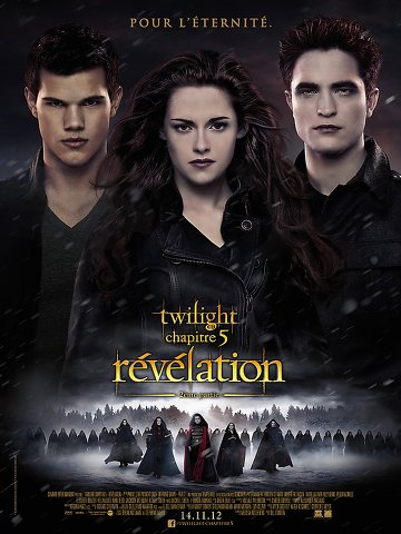 Regarder Twilight 5 : Rvlation 2e partie en streaming