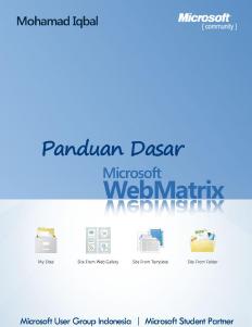 Ebook Panduan Dasar Webmatriks