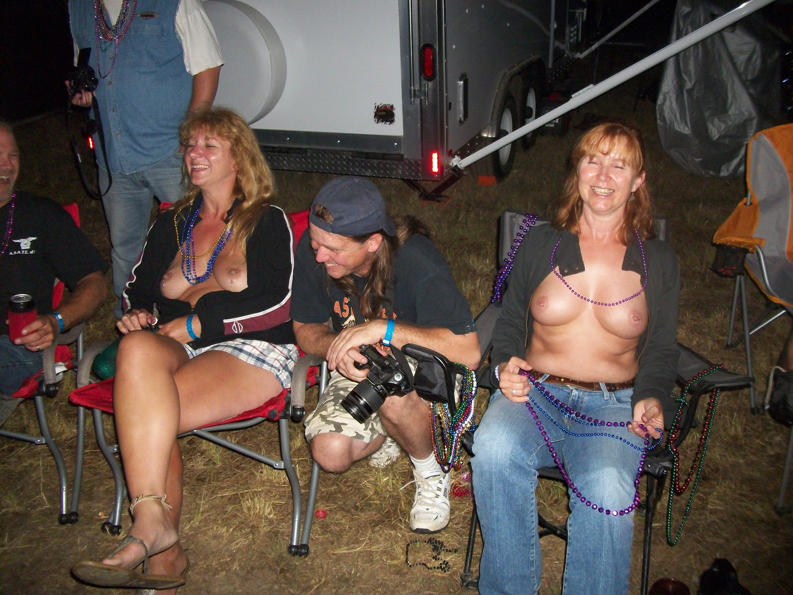 Topic, Chick gets fucked at biker rally think, that