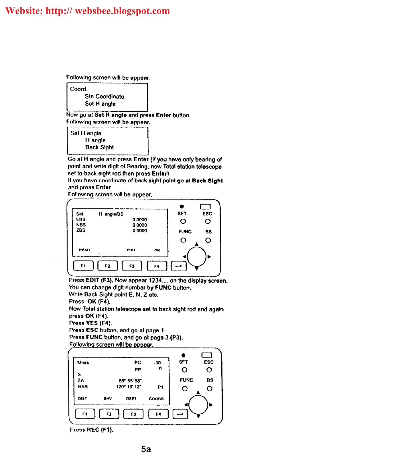 raja farrukh s blog sokkia total station manual training in urdu rh websbee blogspot com Sokkia Model 116 Sokkia CX 103