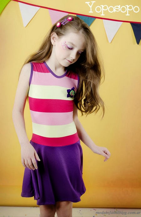 vestidos niñas primavera verano 2014 yoposopo