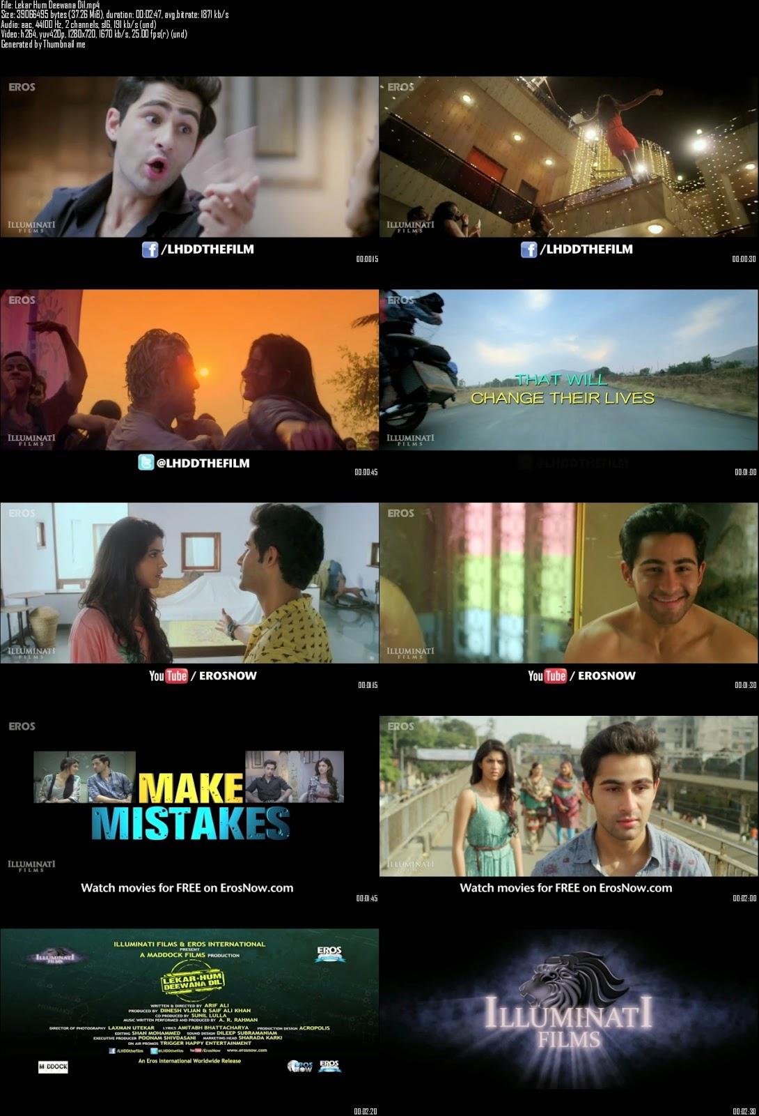 Mediafire Resumable Download Link For Teaser Promo Of Lekar Hum Deewana Dil (2014)
