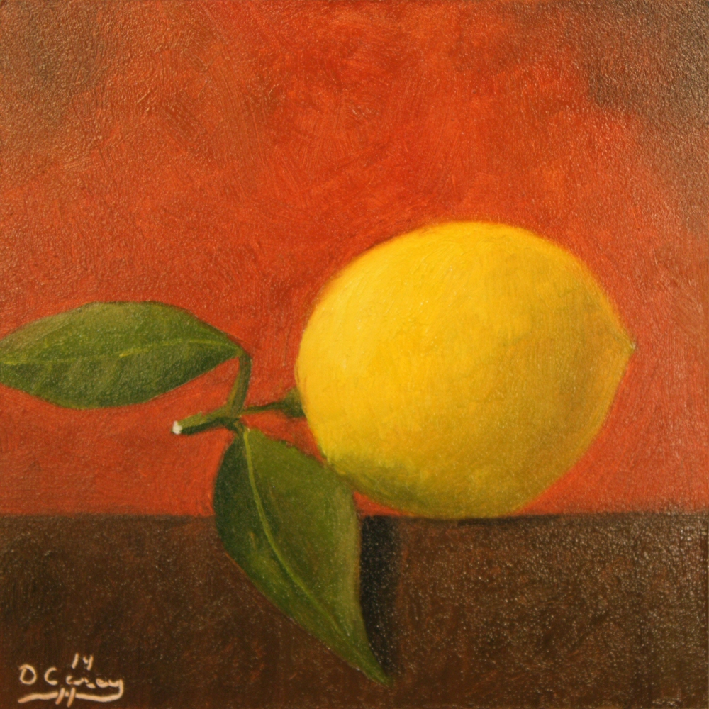 141114 - Kitchen Painting - Lemon 007a 6x6 oil on gessobord - Dave Casey - TheDailyPainter.jpg