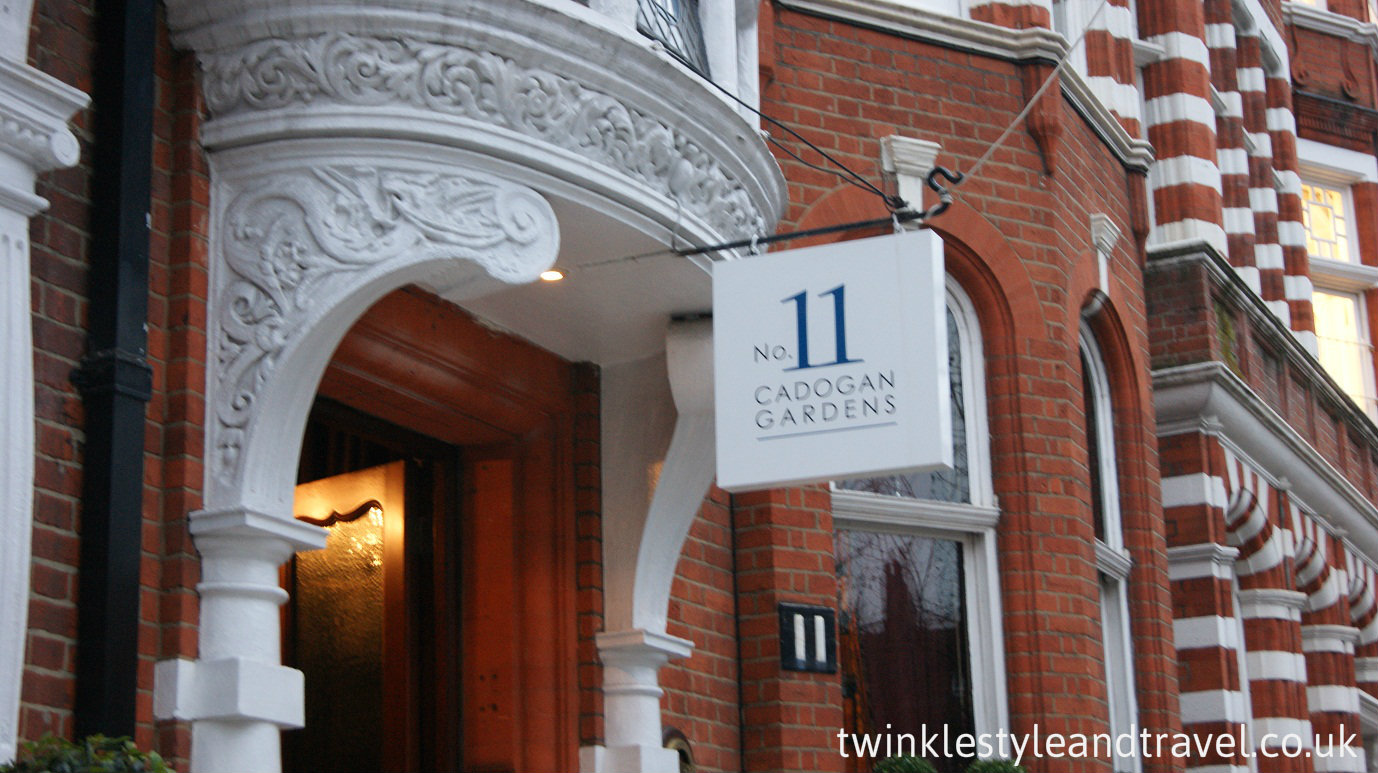 Stylecation Afternoon Tea Review No11 Cadogan Gardens London