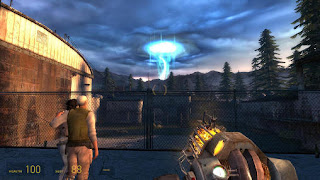 Screenshots of the Half-life 2: Episode two for Android tablet, phone.