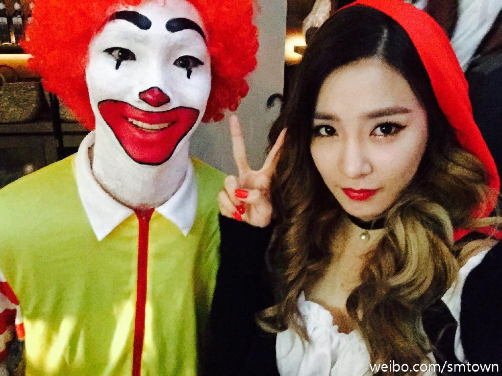 SNSD wows fans with their Halloween Costumes at SMTown Wonderland ...