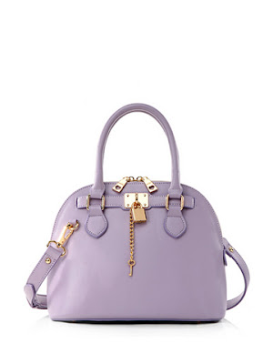 Candy Color Buckle Studded Fashion Handbag