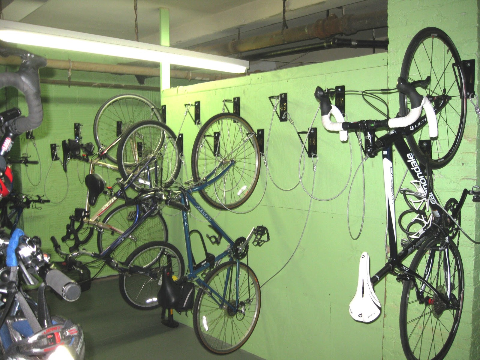 User Friendly Wall Mount Bike Storage, Allows Bikes To Be Stored Just 1  Foot Apart. The Only Bike Bracket With A Lifetime Warranty.