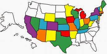 States We Have Visited in Our T@B