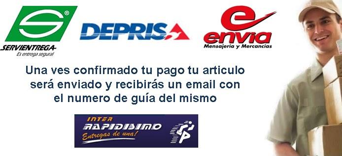Resultado de imagen para mercadopago colombia metodos de envío